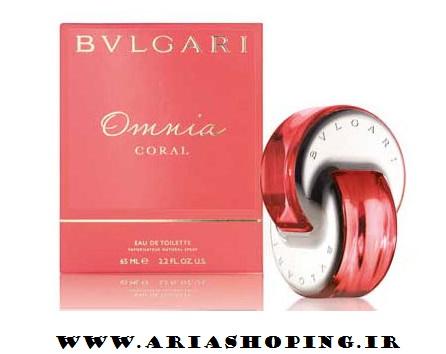 ادکلن زنانه بولگاری Omnia Coral