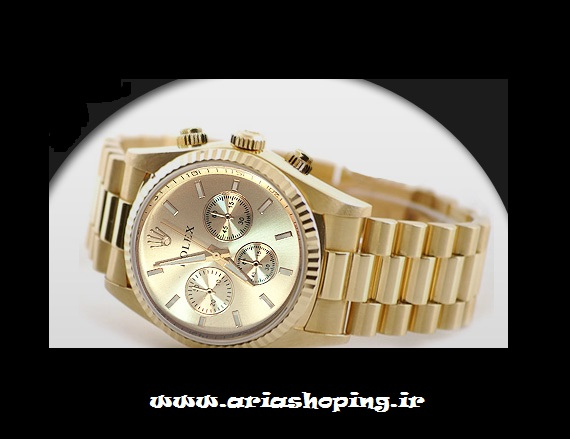 ساعت مردانه مدل رولکس