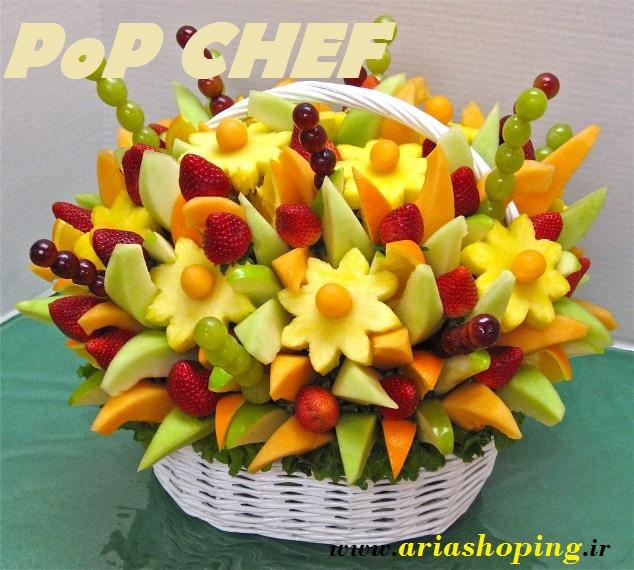 میوه آرائی با قالب پاپ چف