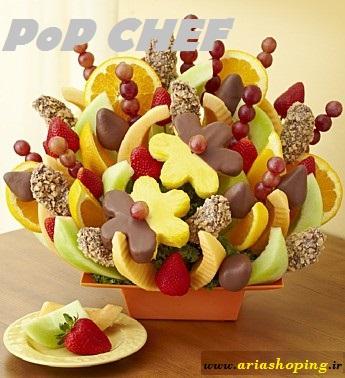 میوه آرائی و تزئین با پاپ چف