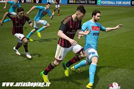 بازی فوتبال فیفا ورژن 15