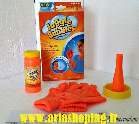 حباب ساز جادوئی JuggleBubbles