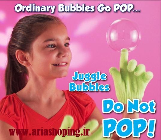 دستکش مخصوص حباب ساز  JuggleBubbles